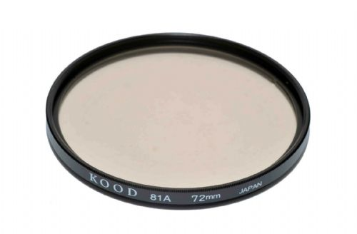 High Quality Optical Glass 81A Filter Made in Japan 72mm Kood